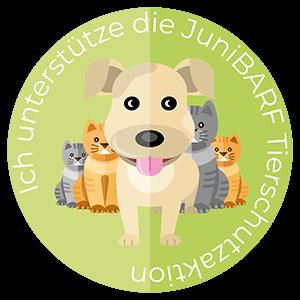 Tierschutzaktion vom BARF Shop JuniBARF